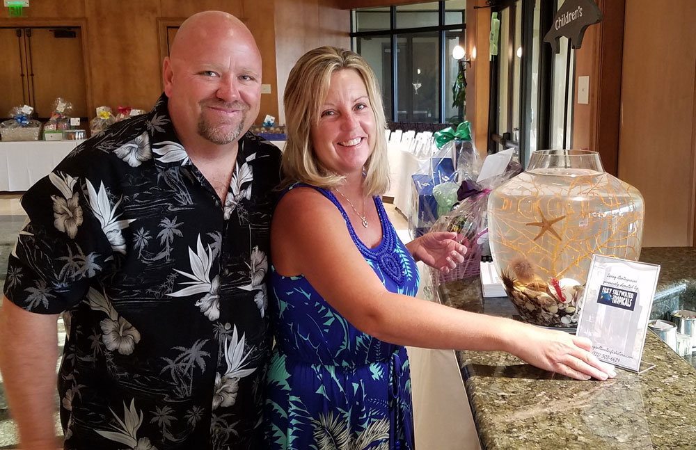 owners of Sea Life Centerpieces